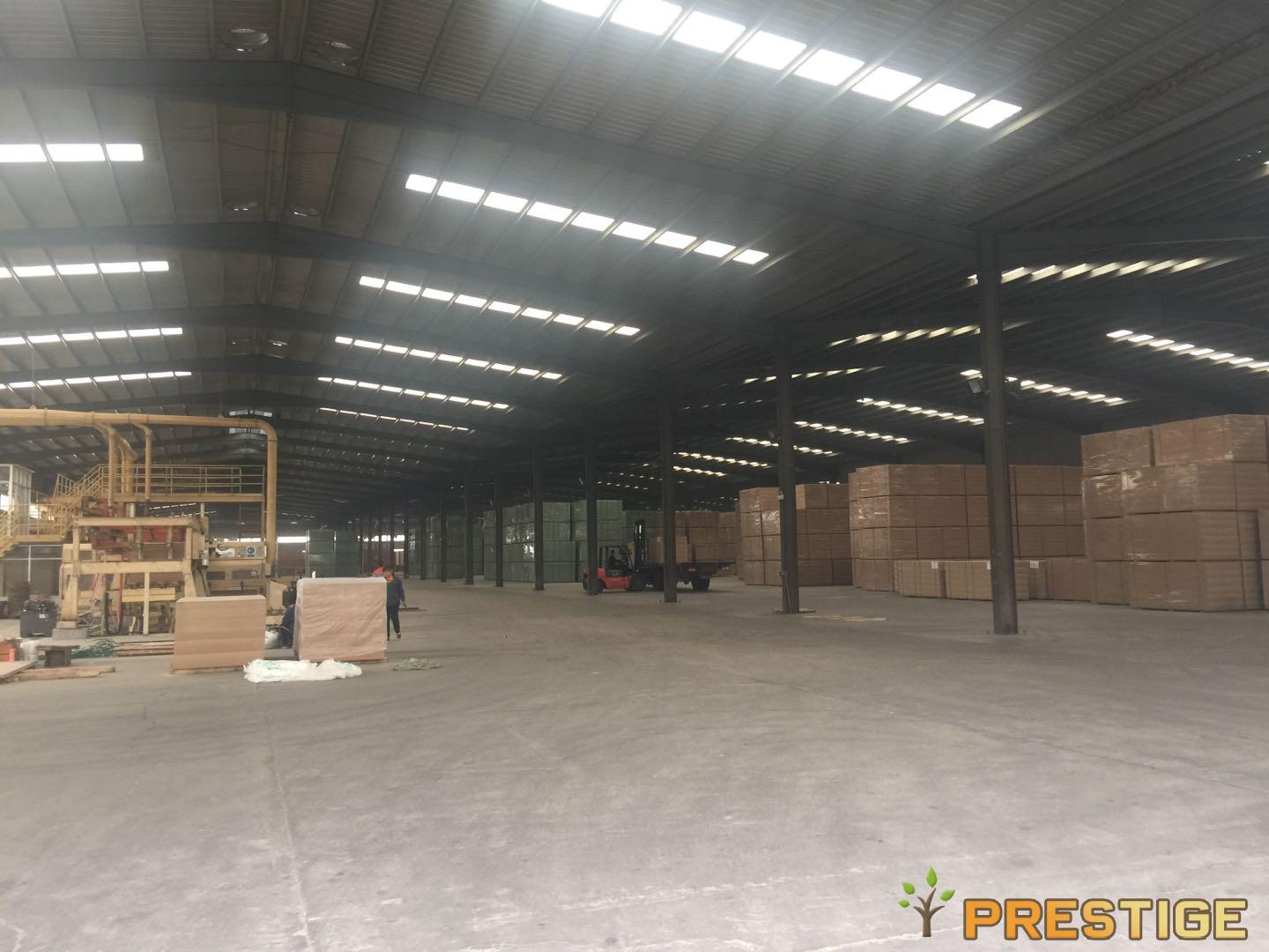 MDF&HDF board stock warehouse